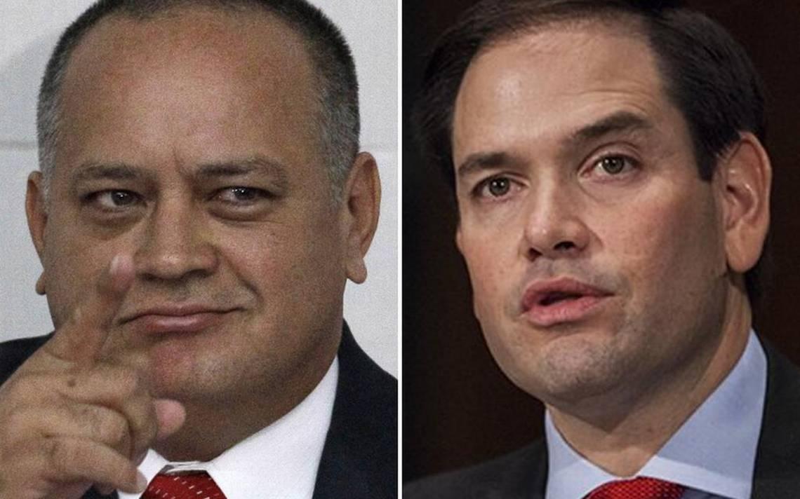 Marco Rubio y Diosdado Cabello riñen con el filo de la palabra en Twitter