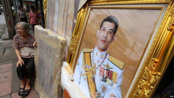 Vajiralongkorn se convirtió en rey de Tailandia tras la muerte de su padre