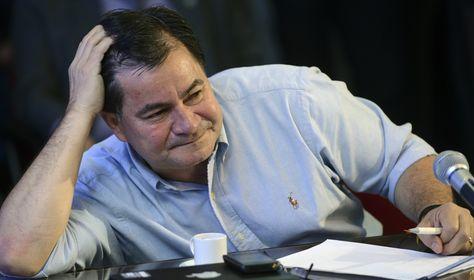 Una fotografía del exsenador Roger Pinto, quien falleció en Brasil tras sufrir un accidente de aviación.