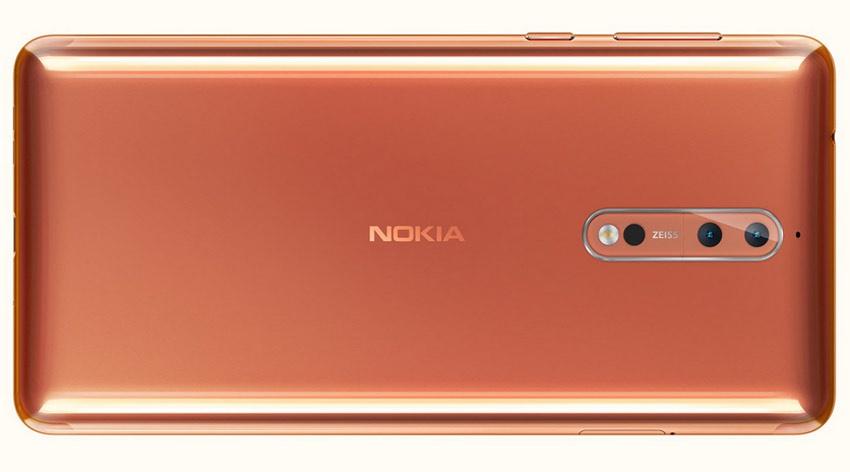 Doble cámara del Nokia 8