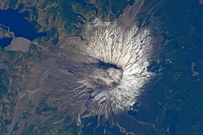 La cara del monte Santa Helena