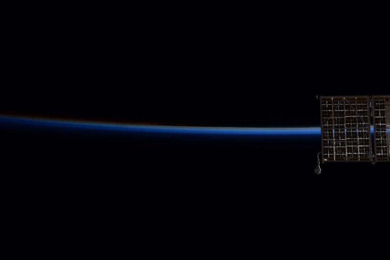 Espada láser de la ISS