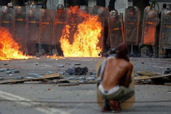 La huelga general de dos días dejó ocho muertos en Venezuela (Reuters)