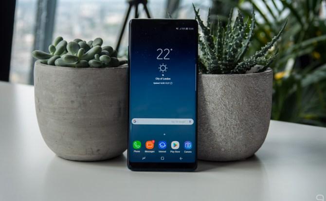 Hola, Samsung Galaxy Note 8