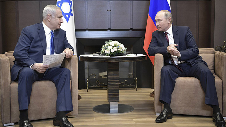 Netanyahu a Putin: Irán debe retirarse de Siria o Israel