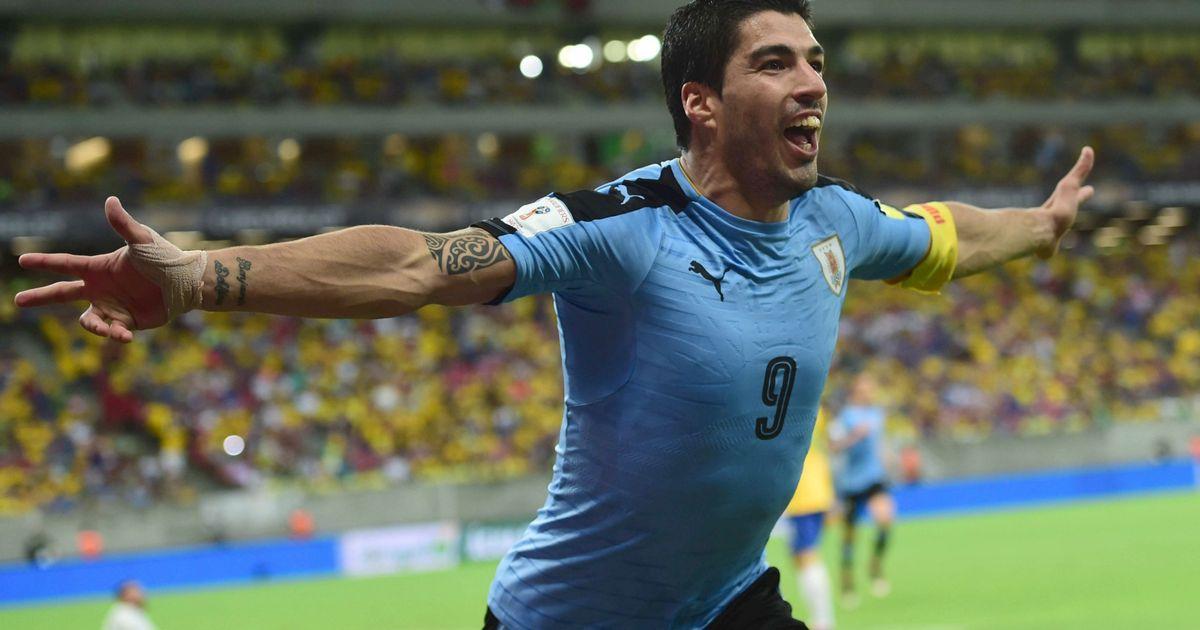 Resultado de imagen para luis suarez uruguay 2017
