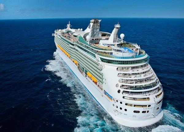Uno de los cruceros de Royal Caribbean