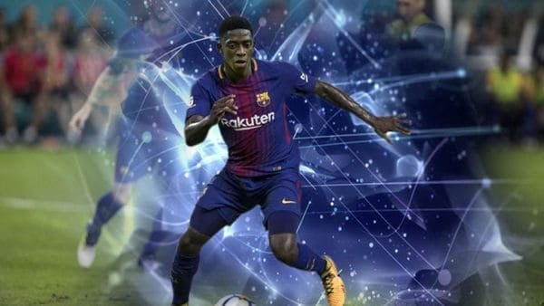 Dembélé es el nuevo jugador del Barcelona
