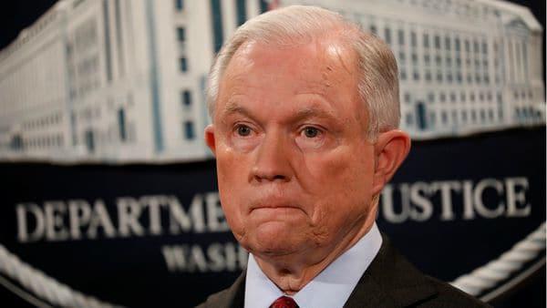 El fiscal general, Jeff Sessions