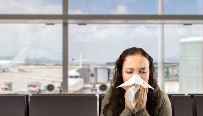 Siempre habrá gente enferma en los aviones. (iStock)