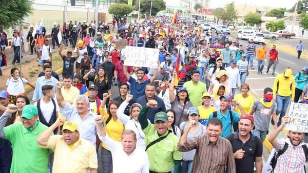 Los venezolanos han organizado incontables protestas por la crisis económica y social