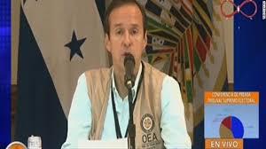 Resultado de imagen para mision electoral OEA en Honduras