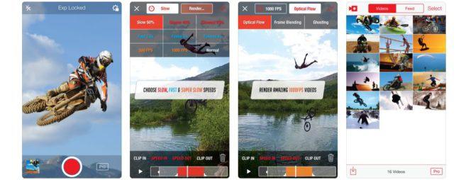 grabar vídeo a cámara lenta en el iPhone