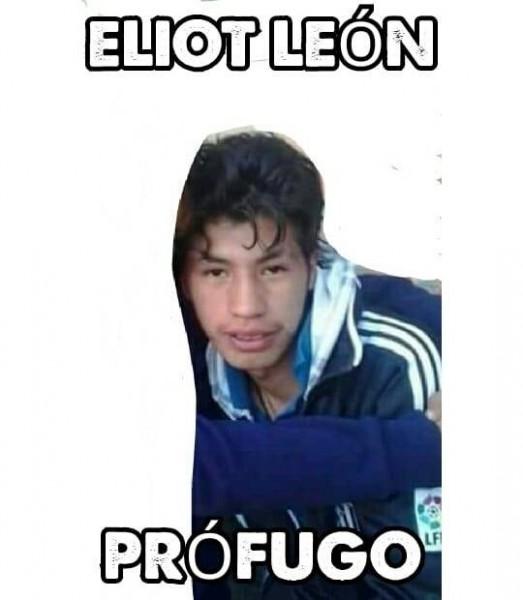Eliot León, presunto asesino de Jesús y Carla, está prófugo. (ABI)