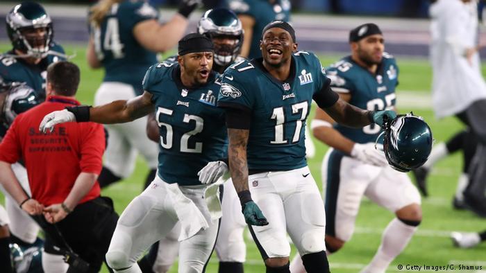 Super Bowl LII - Philadelphia Eagles v New England Patriots Jubel (Getty Images/G. Shamus)