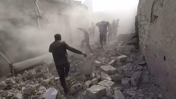 En los últimos días el régimen sirio volvió a utilizar gases tóxicos en los bombardeos contra su población