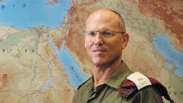 El general israelí Nitzan Alon (Hatzad Hasheni)