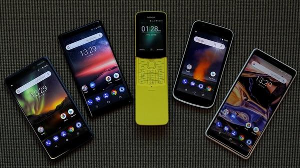 HMD presentó el Nokia 6, Nokia 8 Sirocco, Nokia 8110, Nokia 1 y elNokia 7 Plus en Barcelona (REUTERS/Peter Nicholls)