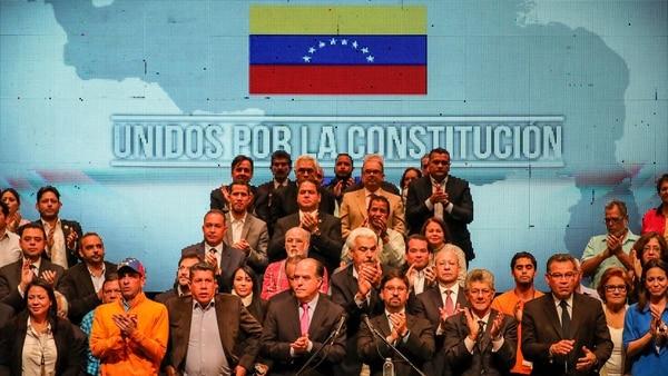 """La Mesa de Unidad Democrática rechazó participar de las elecciones por considerarlas """"fraudulentas"""" (EFE)"""