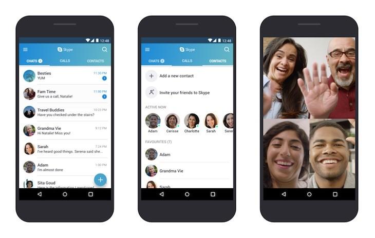 Skype ya es compatible con Android 4.0.3