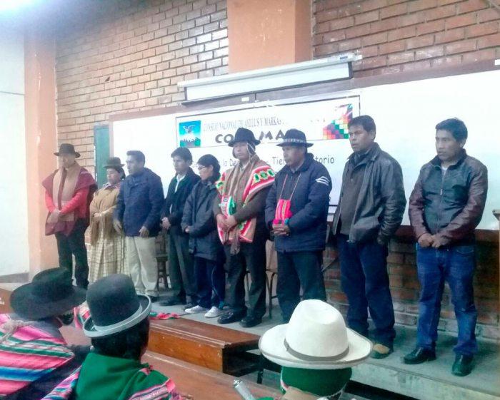 NUEVO DIRECTORIO DEL CONAMAQ, RECIENTEMENTE ELECTO.