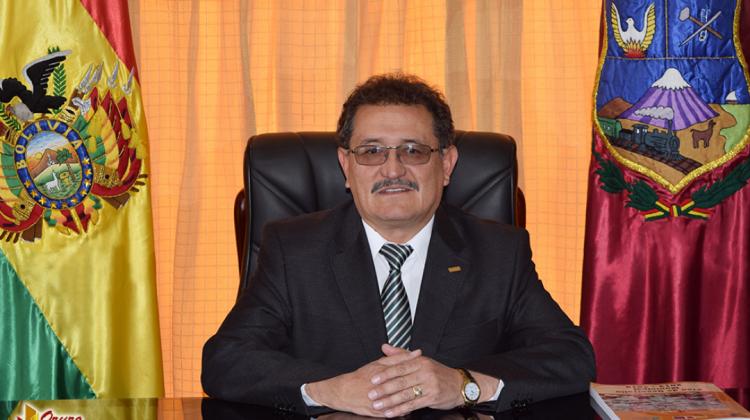 Alcalde Bazan Oruro gamo