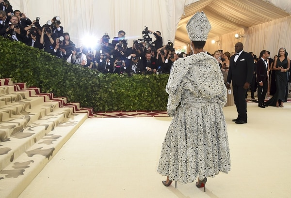 Los flashes, con la más espectacular de todas: Rihanna (AP)