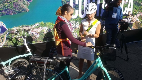Carolina Hidalgo pidió una mejor infraestructura para los ciclistas