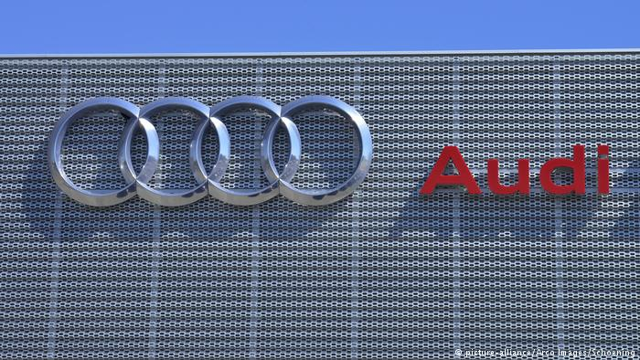 Audi Logo (picture-alliance/Arco Images/Schoening)