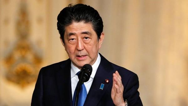 Shinzo Abe. (Reuters)