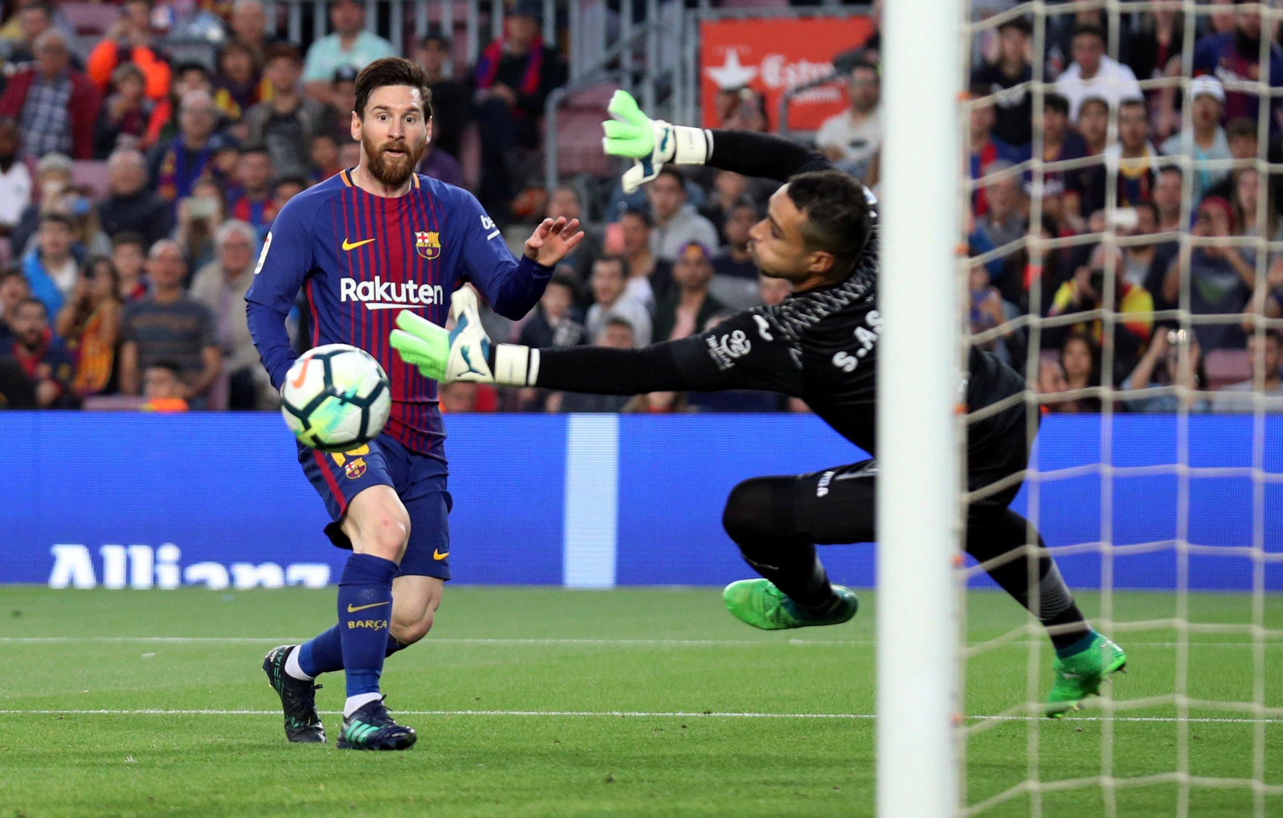 Soccer Football - La Liga Santander - FC Barcelona v Villarreal - Camp Nou, Barcelona, Spain - May 9, 2018   Barcelona