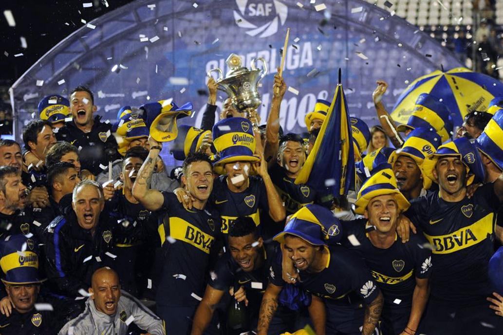 Boca campeón: el xeneize festejó en La Plata