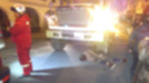 Ciudadano pierde la vida tras ser embestido por un camión cerca a la plaza Riosinho