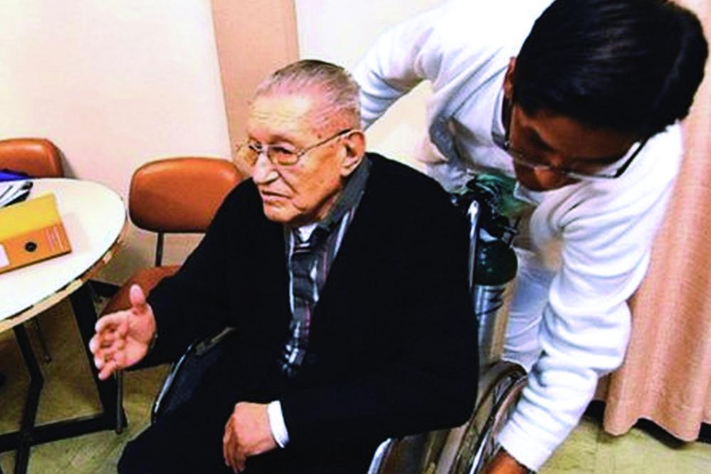 Luis García Meza recibía el 100% de su jubilación desde 1982