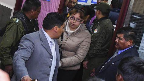 La juez Cinthia Delgadillo es acusada por dos delitos. Foto:APG