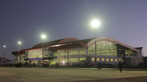 El Aeropuerto Internacional de Alcantarí. Foto: archivo ABI