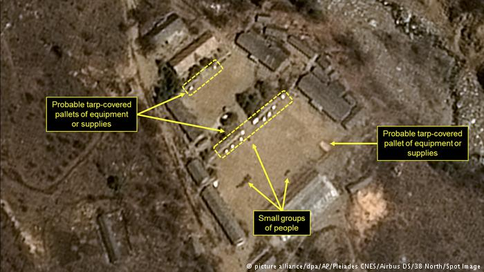 Nordkorea | Atomwaffen-Testgelände (picture alliance/dpa/AP/Pleiades CNES/Airbus DS/38 North/Spot Image)