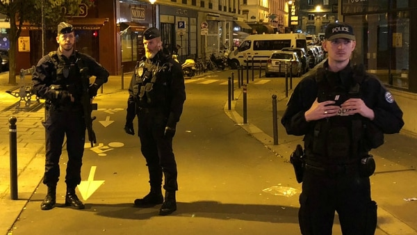 Miembros de la policía francesa. (Reuters)