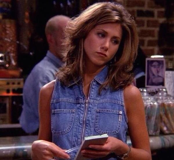 Aniston audicionó para el papel de Mónica Geller, pero finalmente el papel fue para Courtney Cox