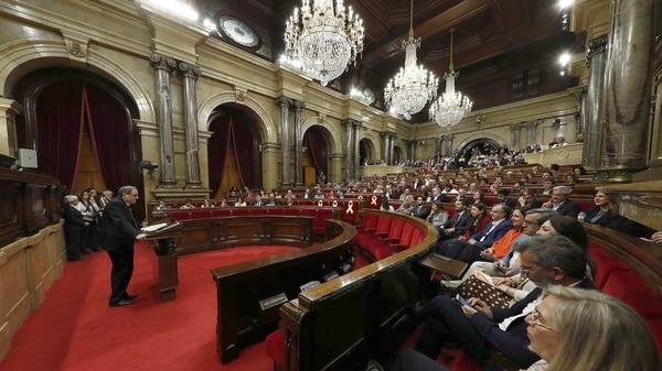 El Parlamento catalán (Reuters)