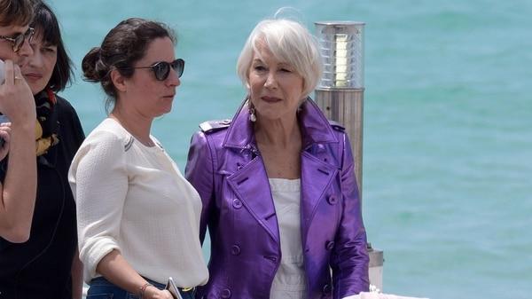 Helen Mirrenen la edición 71 del Festival de Cannes (The Grosby Group)