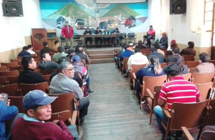 La asamblea de instituciones de CODEINCA este domingo. Foto: CORREO DEL SUR