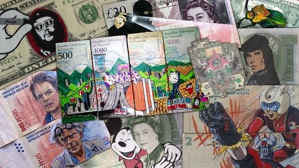 Money Art: la técnica que cautiva a cada vez más artistas del mundo