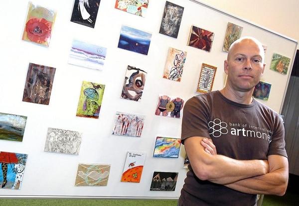 Lars Kræmmer y algunas muestras de Artmoney