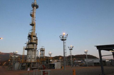 El campo gasífero de Incahuasi. Foto: archivo APG