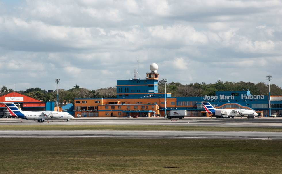 Accidente de avion en Cuba