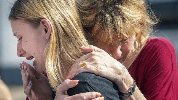 El tiroteo ocurrió en la escuela Santa Fe (AP)