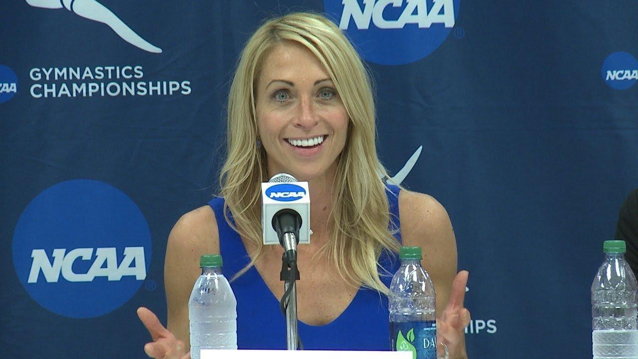 Rhonda Faehn, exjefa del equipo de gimnasia de Estados Unidos