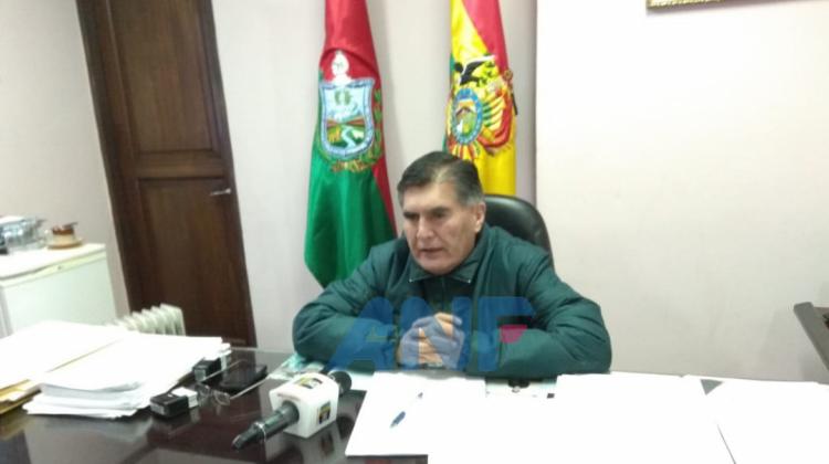 Magistratura La Paz ANF
