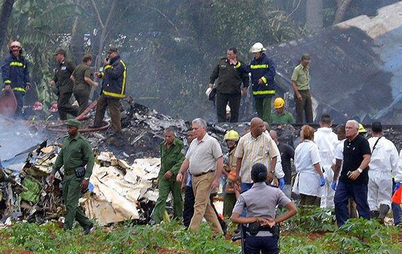 Resultado de imagen para trágico accidente aéreo en Cuba